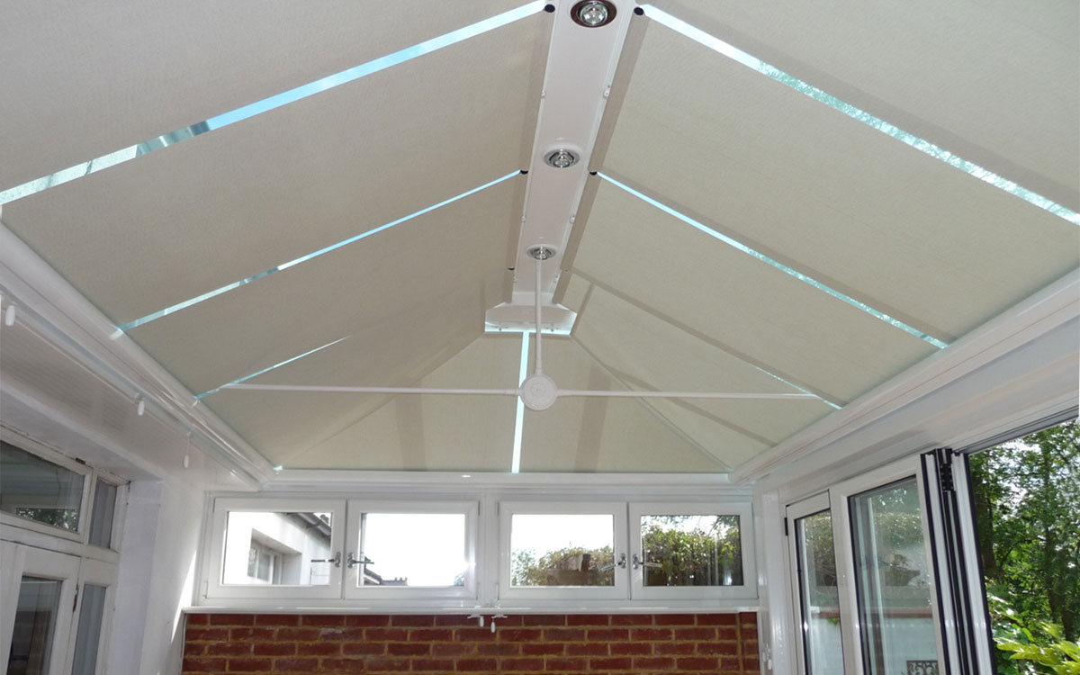 High Curtains Ceiling Conservatory Blinds, Roof Roller Blinds, Sutton Coldfield